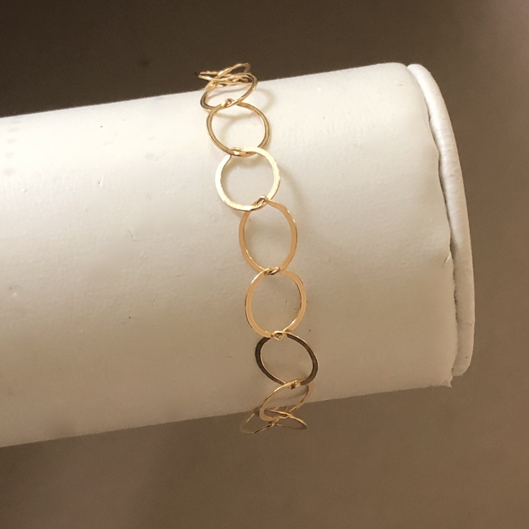 14 k goldfilled delicate armband